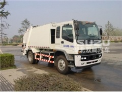 New arrival factory price good quality customized 10m3 garbage compactor truck