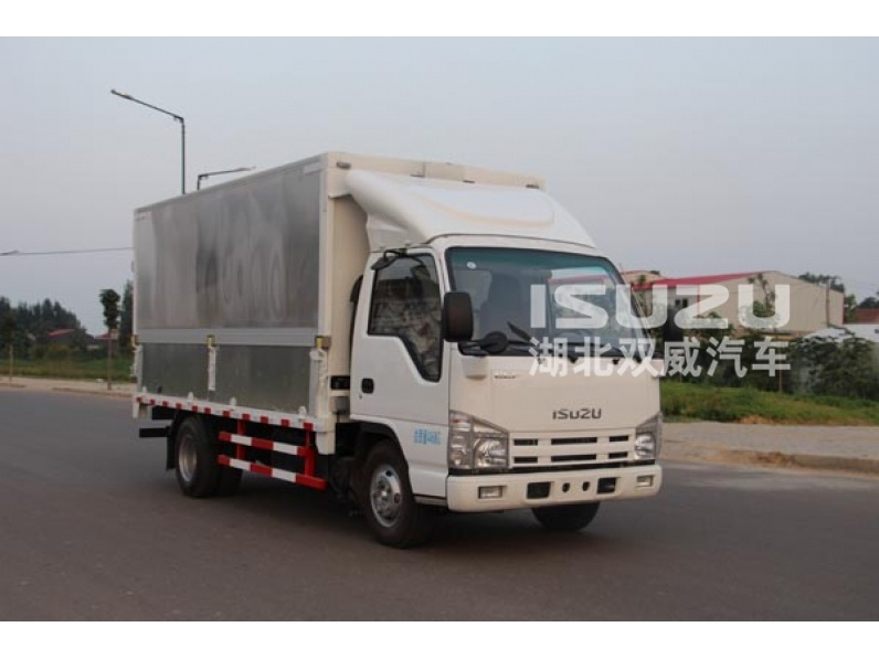 Isuzu led mobile advertising trucks for sale