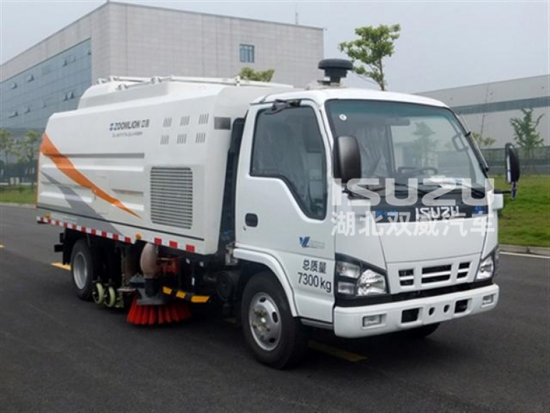Japan Isuzu Road Cleaning Sweeper Truck for sale