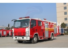 ISUZU NPR WATER FOAM FIRE TRUCK