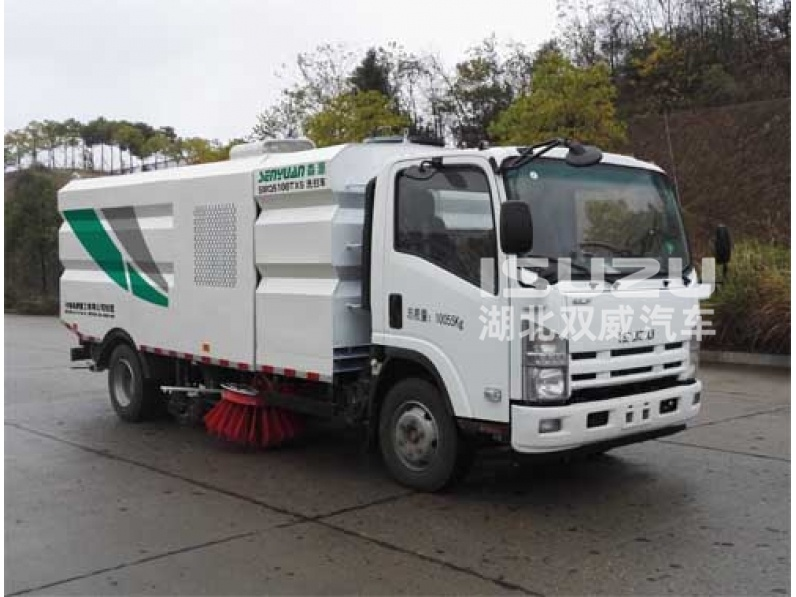 Japanese Isuzu Popular Road Sweeping truck for sell