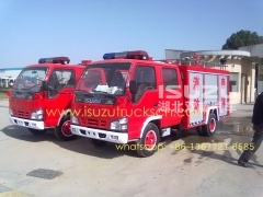 2000L Fire truck with water ISUZU Suppliers