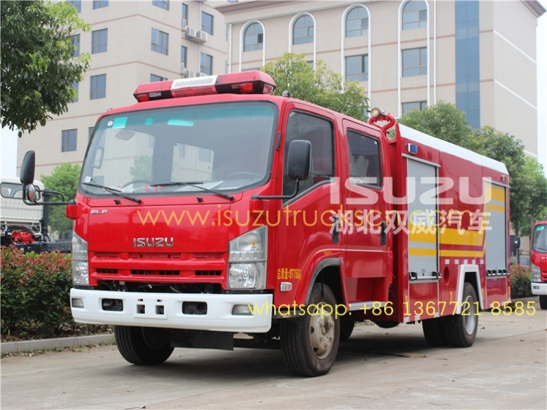 4000L ELF Fire tender Suppliers