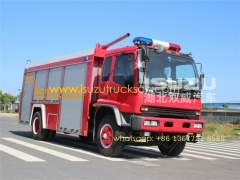 High Quality Factory Price 8000L Emergency Rescue Brand New Heavy Fire Trucks Supplier