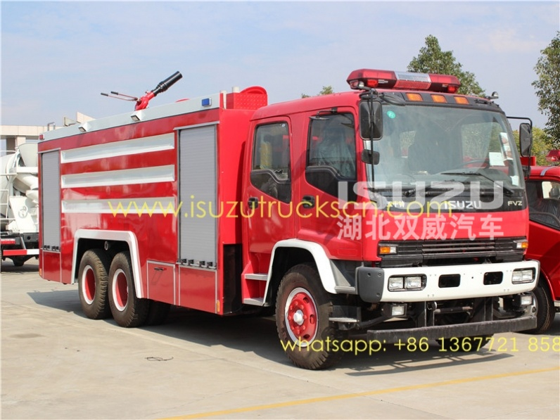 ISUZU fast and safe fire truck