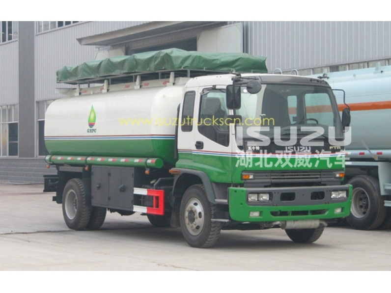 ISUZU Fuel bowser trucks manufacturer