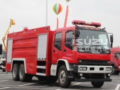 Customer 10,000L Foam Fire Vehicle ISUZU
