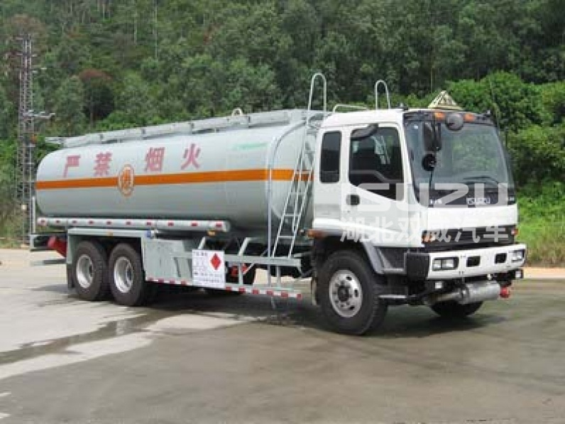 280HP Isuzu 6x4 22cbm (5,548 US Gallon) Carbon Steel Fuel Oil Storage Tank