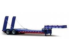 china 2 axles 3 axles 50ton heavy duty low bed trailers/lowbed semi trailer for sale