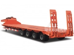 China manufacturer muti axle hydraulic gooseneck detachable lowbed/lowboy semi truck trailer for sale