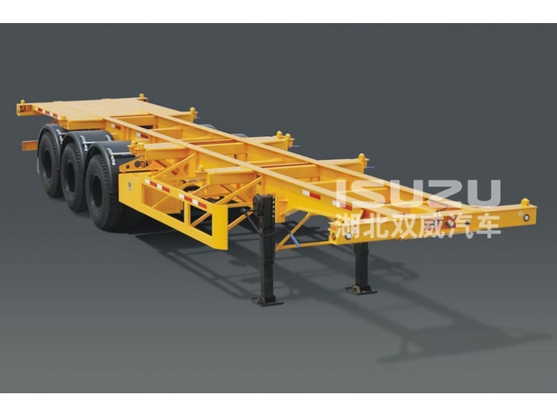 Isuzu skeleton semi trailer/container skeleton semi trailer