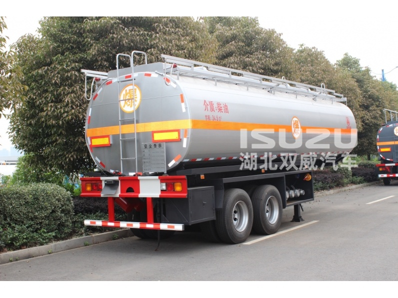 35CBM fuel tank semi trailer