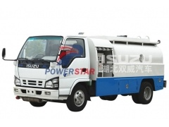 Factory direct sale 4000L Isuzu Fiscal Refuel Tank Truck for Gasoline/Light Diesel Delivery