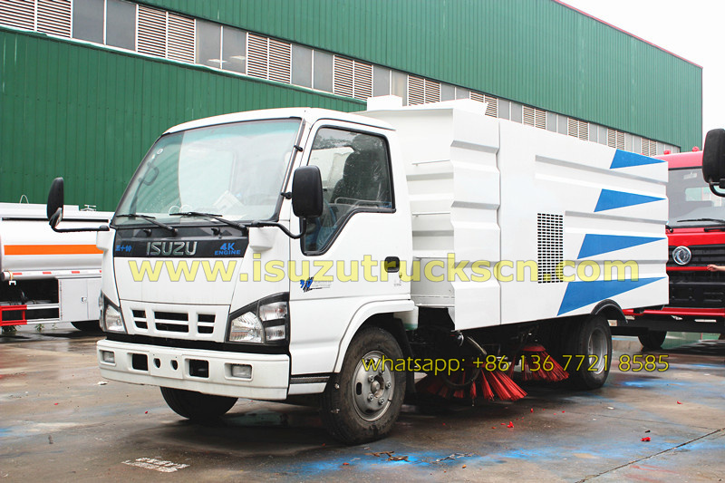 Hot Selling Philippines 5ton Street Sweeper Truck Isuzu In China