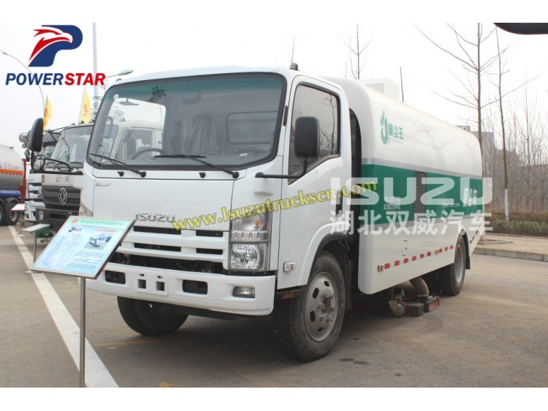 Isuzu Road Cleaner isuzu industrial Power Sweeper