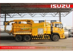 Isuzu Sewer Cleaning Combination Vacuum Jetting Trucks