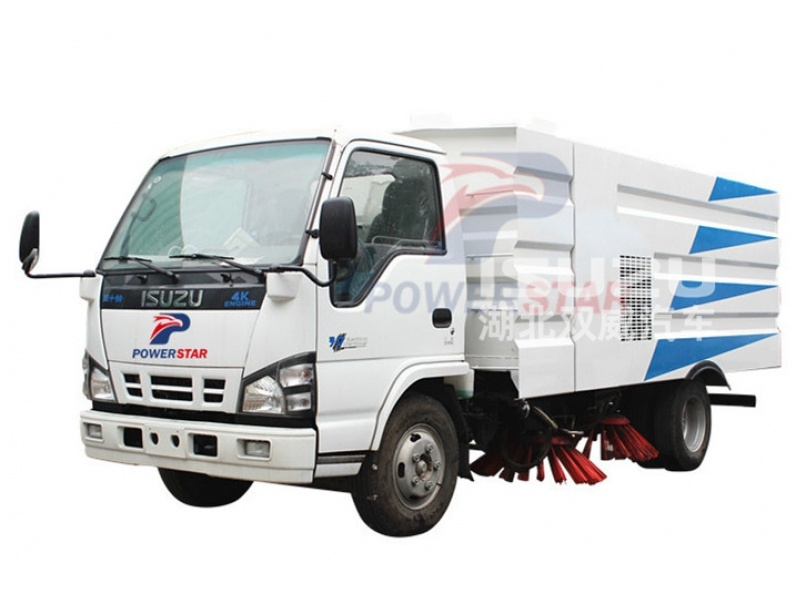 Japan quality road sweeping vehicle