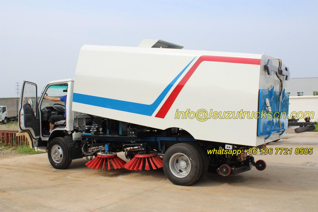 Hot Selling Street Sweeper Truck Isuzu In China Powerstar
