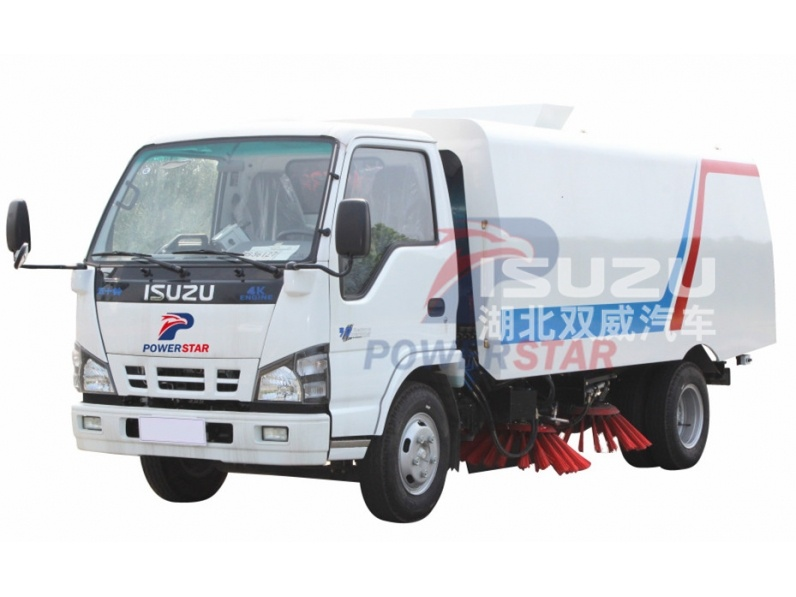 Isuzu 5000liters dust van street cleaning vehicle