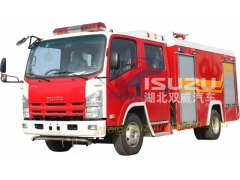 water foam dry powder combine fire vehicle Isuzu trucks
