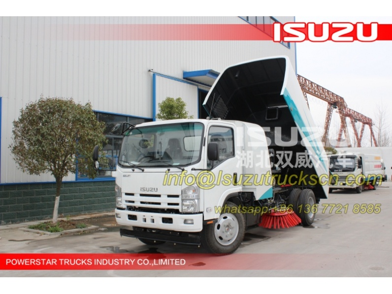 Street Sweeper and Washer Isuzu trucks