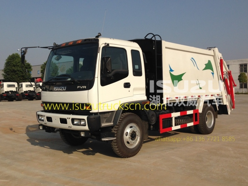 Special purpose vehicle Isuzu Rubbish compactor vehicles