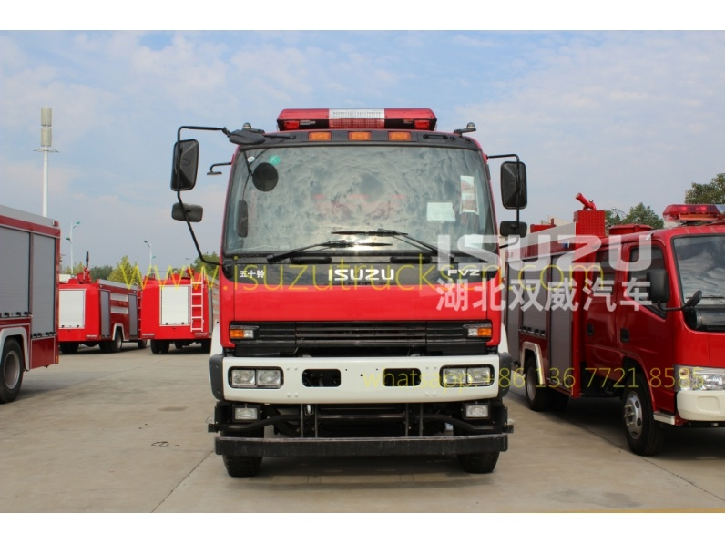 ISUZU Brand New Heavy Fire Trucks Supplier
