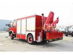 2015 good quality Isuzu Emergency Rescue Vehicle Fire Truck for sale
