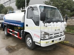 water lorry ISuzu truck for sale