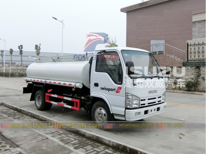 oil refueler truck Isuzu trucks 5000LITES