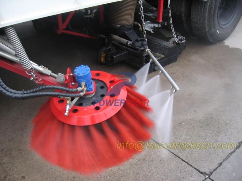 Hot Selling Road Sweeper Hydraulic Motor In China-PowerStar Trucks