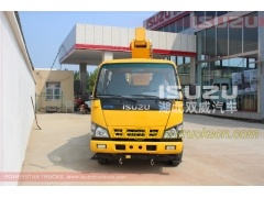 Isuzu Truck Mounted Folding Jib Aerial Lifting Platform Working Vehicle High Altitude Operation trucks