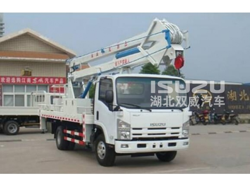 Bucket Trucks Isuzu Aerial platform vehicle