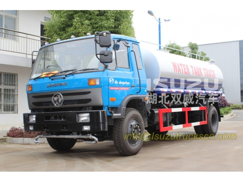 Tanzania db Shapriya water tank truck for sale