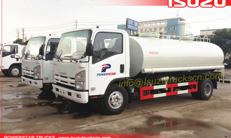New Designed Portable Water Tank Isuzu Water Cart,Stainless