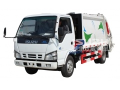 waste collector compactor Isuzu Truck mounted compactors