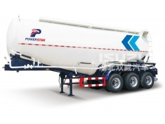 Powerstar New 40ton Cement Tanker Semi Trailer 3 Axles Bulk Carrier For Sale