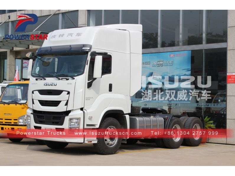 New isuzu 6x4 GIGA Tractor Truck Prime Mover And Tractor Trucks For Sale