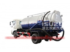 Vacuum trucks isuzu sewage suction tanker