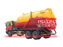 Widely used waste water suction truck Isuzu vacuum pump Sewage tanker Septic water Tank Trucks
