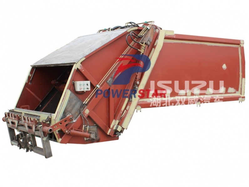 Rear loader garbage truck super structure kit