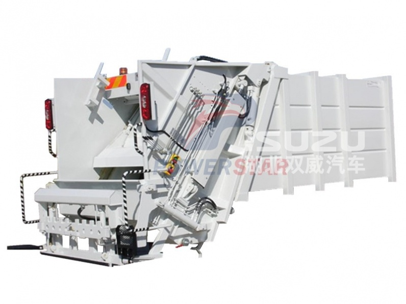 supplier for Rear loader garbage truck body kit for sale