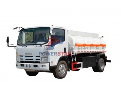 Isuzu fuel oil tanker