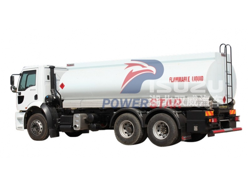 Isuzu 25cbm fuel transportation tanker truck for congo