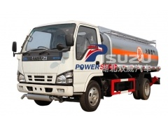 Custom oil tank truck Isuzu for aviation fuel