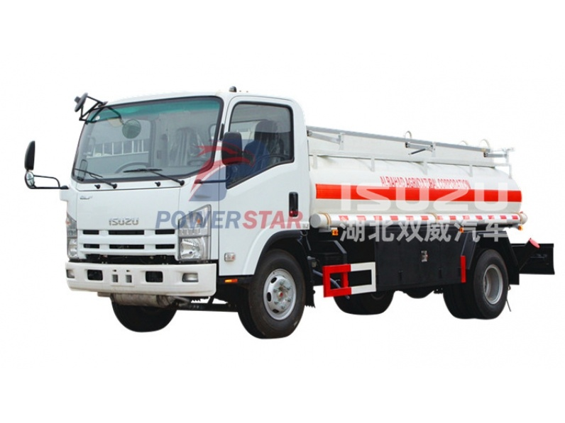 Myanmar 1000 Gallon ISUZU Light Oil Tank Truck with Fuel Dispenser