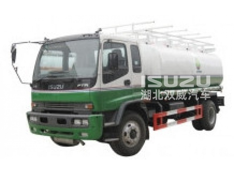 Isuzu chassis  Mobile Refueling truck for Light Gasoline Delivery