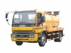 New Design Sewer Suction Trucks 10000Liters Vacuum Tank for Sludge Sewage, dirty water, Fecal Transportation