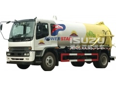 Sewage Suction Truck Isuzu