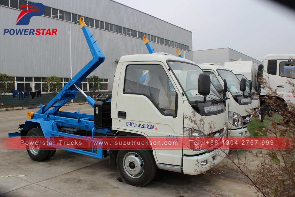 New Style Detachable Container Garbage Truck,Isuzu Sewer